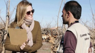 Samantha Bee Visited A Refugee Camp To Prove That Syrian Refugees Aren't So Scary