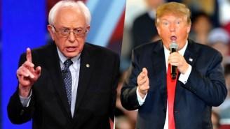 Donald Trump And Bernie Sanders Win The New Hampshire Primaries