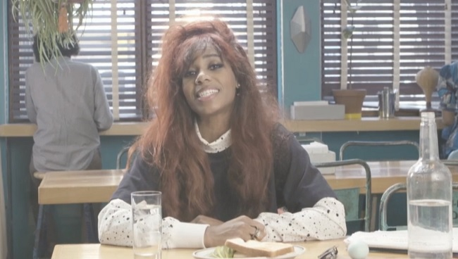 Santigold can't get enough of myself music video webcam