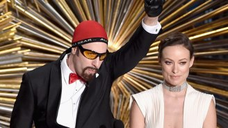 Ali G Was Banned From The Oscars, But Sacha Baron Cohen Snuck Him In Anyway