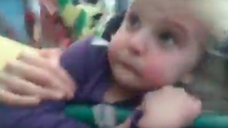 Watch This Little Girl's First Roller Coaster Experience Go From Happy To Terrifying Real Quick