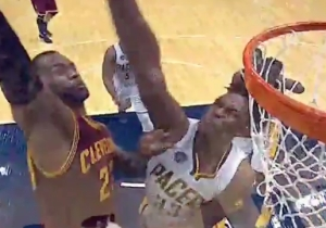 Myles Turner's Rejection Of LeBron James Is The Cherry On Top Of His Rookie Year