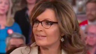 Sarah Palin Snaps At 'Today' Anchors When Asked Why She Blames President Obama For Track's Arrest