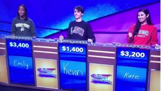This LSU Student On 'College Jeopardy' Needs To Brush Up On His SEC Football