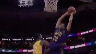 Anthony Davis Powers Right Through A Helpless Roy Hibbert For The Emphatic Slam