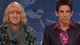 Ben Stiller Returns To 'SNL' With Owen Wilson To Talk Politics As Zoolander