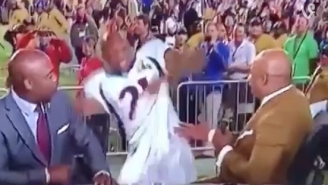 Aqib Talib's Wipeout On National TV Is Proof That We're All A Little Clumsy