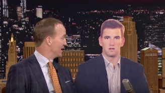 Peyton Manning Tells Jimmy Fallon Why He's Used To Eli's Sad Face