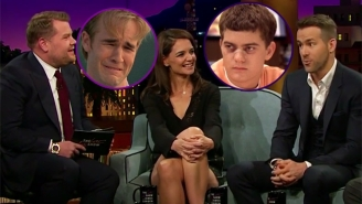 Ryan Reynolds Helps Katie Holmes Confirm Who Was The Best Kisser On 'Dawson's Creek'