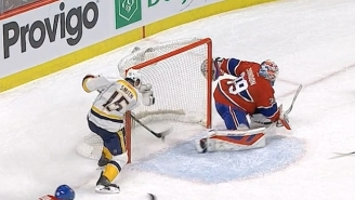 This Nashville Predators Player Saving His Own Point-Blank Shot In Overtime Is Mesmerizing