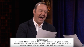 Kevin Spacey Will Make You Wish Christopher Walken Was Playing 'Garbageman' On 'House Of Cards'