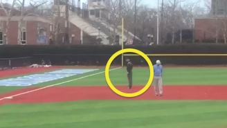 Why The Heck Is This Umpire Riding A Hoverboard?