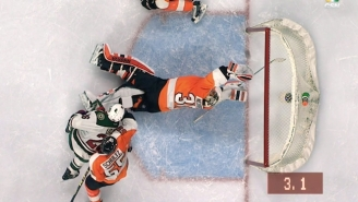 This Outrageous Save By Michal Neuvirth Preserved A Flyers Win