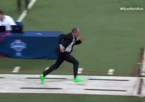 Rich Eisen Showed Off His Blazing Dad Speed In His Fastest 40-Yard Dash Ever