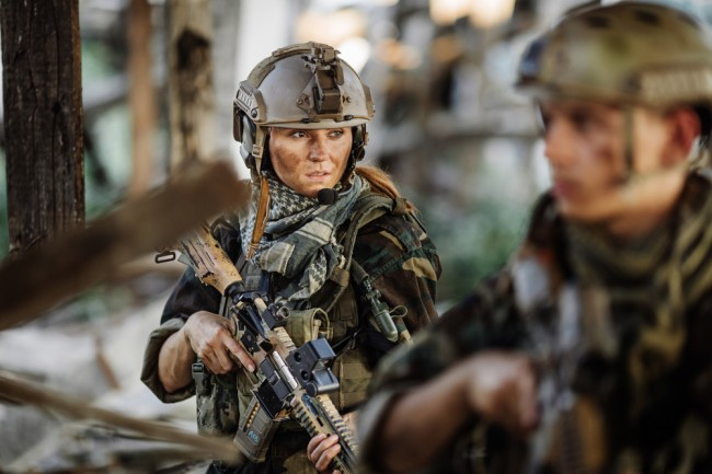 female-soldier