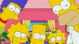 The Simpsons show the Presidential nominees how to do politics