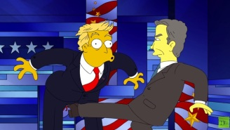 'The Simpsons' Finally Lets The 2016 Presidential Candidates Beat Each Other In This Spoof