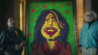Skittles' Super Bowl 50 Ad Features A Singing Candy Portrait Of Aerosmith's Steven Tyler