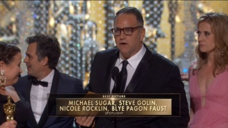 'Spotlight' Takes The Best Picture Oscar In A Mildly Shocking Upset
