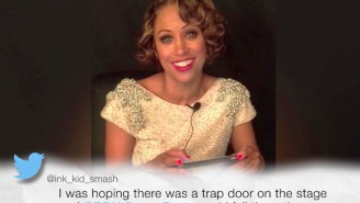 Stacey Dash Read Some Mean Tweets Backstage Following Her Awkward Oscars Appearance