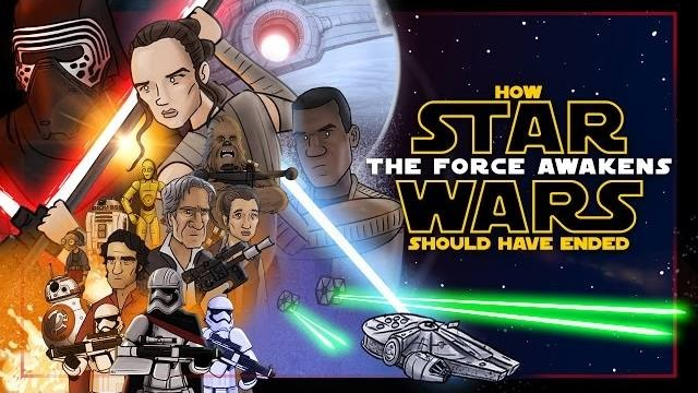 [WATCH] Here's How '<b>Star Wars</b>: The <b>Force Awakens</b>' Should Have ...