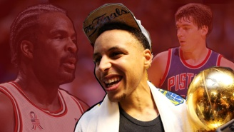 Should Someone Send Steph Curry A Message For His Shimmy In Front Of The Hawks' Bench?
