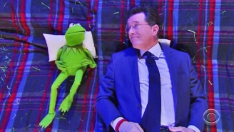 Stephen Colbert And Kermit The Frog Pondered The 'Big Questions' Like Happiness And Pants