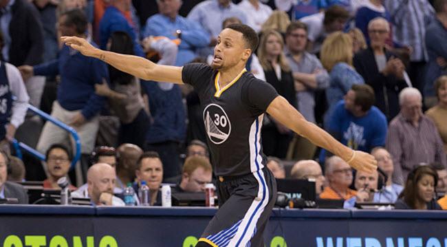 Stephen Curry against Thunder