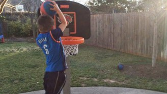 Steve Novak's Son Now Has Absolutely No Idea Who His Dad Plays For