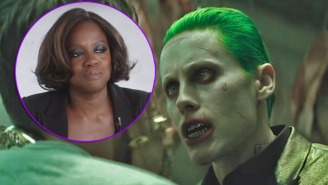 Viola Davis On 'Suicide Squad': Jared Leto Did 'Some Bad, Bad Things'