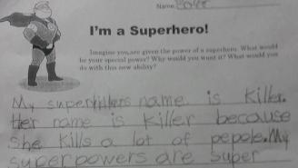 This Little Girl's Supervillian Name And Superpowers Are A Cause For Concern