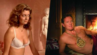 Sending Cleavage Selfies To Piers Morgan Is Apparently The Best Way To Support Susan Sarandon