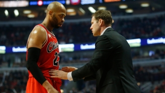 Taj Gibson Explains Why Being Cursed Out By Fred Hoiberg Is 'Great'