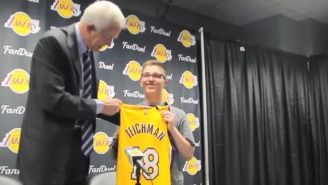 The Lakers Signed An Incredibly Brave Kid Battling Brain Cancer To A One-Day Contract