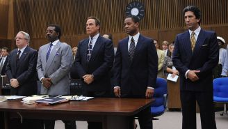 On 'The People v. O.J. Simpson,' it's Cochran vs. Shapiro for Dream Team leader