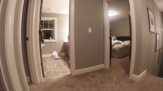 Hilarity Ensues When A Toddler Wears A GoPro During A Game Of Hide And Seek