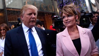 Sarah Palin Is Now Using A Fake Gandhi Quote On Social Media To Show Support For Donald Trump