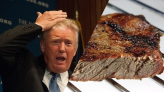 Donald Trump Can Never Be Taken Seriously Again: He Orders Steak Well Done