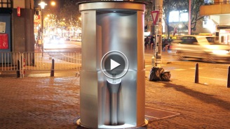 Everyone Should Be Jealous Of This New Pop-Up Urinal In Australia