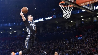 The Internet Predictably Went Nuts Over The NBA Dunk Contest