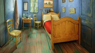 This Awesome (And Super Cheap) Airbnb Will Make You Feel Like You're Sleeping In A Van Gogh Painting