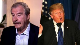 Vicente Fox Continues To Rail On Donald Trump, Dropping F-Bombs And Comparing Him To Hitler