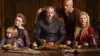 Exclusive: It's a good day for SURPRISE ARREST in this 'Vikings' clip