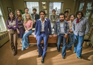 What happens when Mick Jagger visits a TV show writers room?