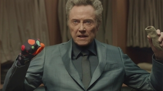 Christopher Walken Adds 'Pizazz' To The Super Bowl By Busting Out A Sock Puppet