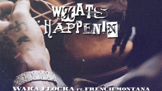 """Waka Flocka And French Montana Collab On """"What's Happenin"""""""