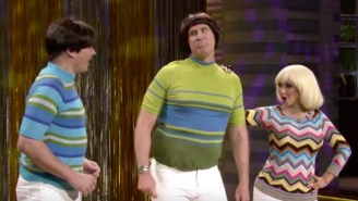 Will Ferrell And Christina Aguilera Bring The Weird To Jimmy Fallon's 'Tight Pants' Song