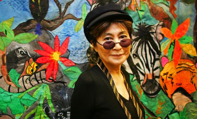 Yoko Ono Launches John Lennon Foundation For Child Health