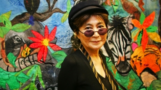 Yoko Ono Hospitalized In New York For 'Extreme Flu-Like Symptoms'