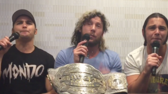 Kenny Omega And The Young Bucks' Apology Press Conference Is The Greatest Promo Of All-Time